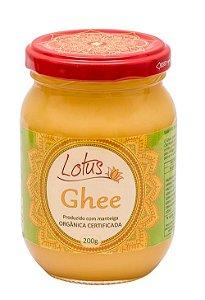 Lotus Ghee   - 200 g/268 ml.    GHEE produzido com manteiga orgânica Timbauba.