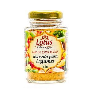 Tempero Massala Para Legumes Lotus - 55g