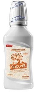 Enxaguante Bucal Natural com extrato de Cúrcuma, Cravo e Melaleuca.  250 ml