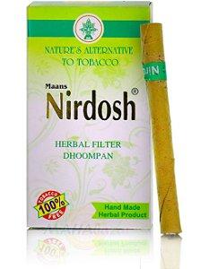 Nirdosh  Ayurvedico sem Tabaco e Nicotina. Feito com 6 tipo de ervas naturais.