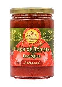 Polpa de tomate  Ecológica- feita com tomates orgânicos 330ml.