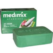 Medimix: Sabonete  Ayurvedico com  extratos de ervas , óleos e sândalo.125g
