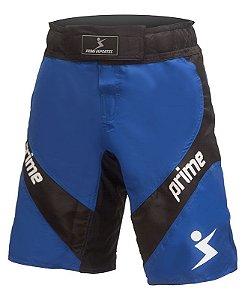 FightShort Nocaute Azul e Preto