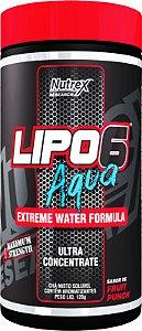 Lipo 6 Aqua - 120g - Nutrex