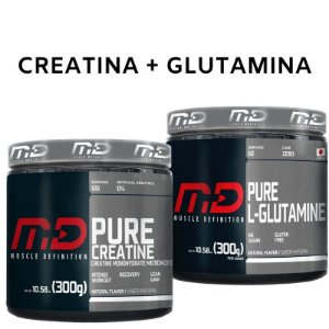 Creatina 300g + Glutamina 300g - MD