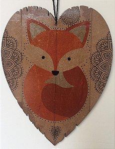 Adorno de parede ou porta Fox