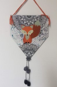 Flâmula Fox Pompom