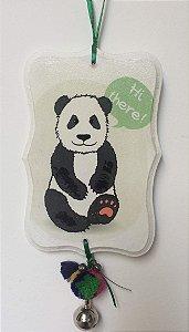Pingente para porta/parede Panda