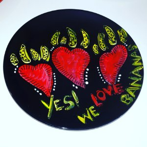 Prato YES! WE LOVE BANANAS
