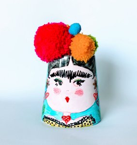 Pote decorativo Frida Kolors