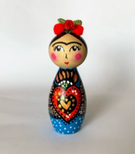 Boneca Frida Corazon