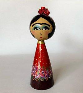 Boneca Frida Red