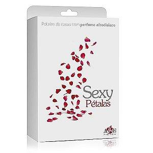 Pétalas de rosa artificiais aromatizadas