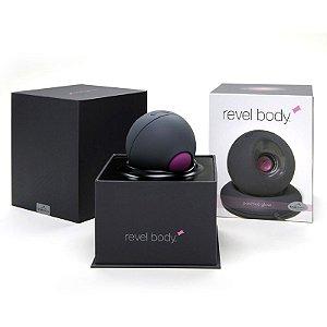 """Revel Body - Vibrador Com Frequência Sonora """"OM"""""""