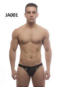 Jockstrap abertura lateral preta