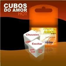 DADO CUBO DO AMOR HOT 2 UNID