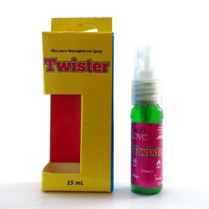 Twister, esfria, esquenta, vibra e pulsa