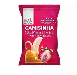 CAMISINHA COMESTIVEL CHICLETE