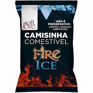 CAMISINHA COMESTIVEL FIRE/ICE