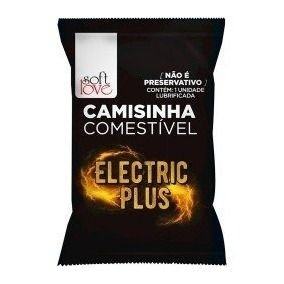 CAMISINHA COMESTIVEL ELECTRIC PLUS