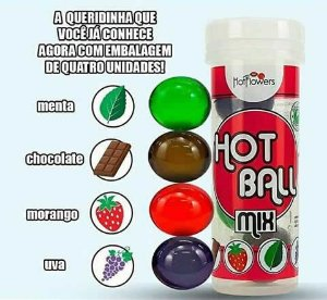 Hot Ball mix frutas