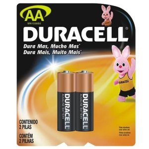 Pilhas AA Duracell - 2 Unid.