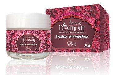 FLAMME D AMOUR VELA AROMATICA FRUTAS VERMELHAS 30G