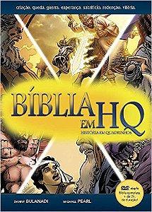 Combo BÍBLIA EM QUADRINHOS: Bíblia Mangá Kids + Bíblia em HQ