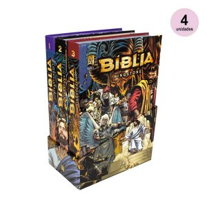 Atacado: Bíblia Kingstone  (4 boxes)