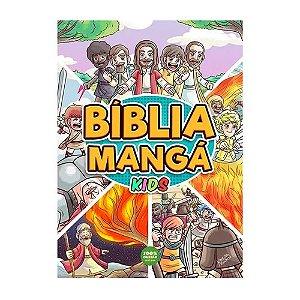 Bíblia Mangá Kids - Edição Luxo