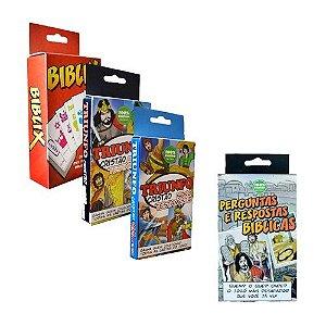 Imperdível! Leve 3 jogos bíblicos pelo preço de 2