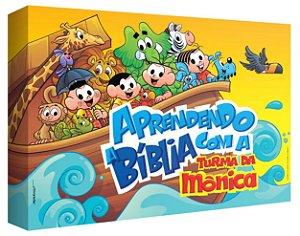 JOGO APRENDENDO A BÍBLIA COM A TURMA DA MÔNICA (pré-venda)