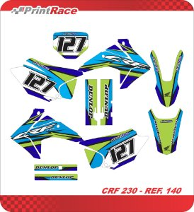 Crf 230 - Color Geometric Blue