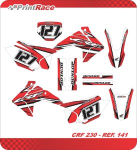 Crf 230 - Color Geometric Red