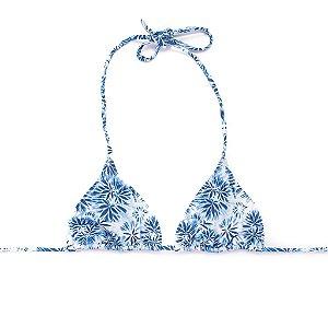 Top Cortininha Tie Dye Blue