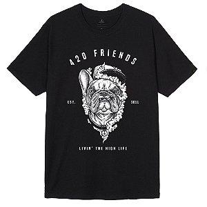 Camiseta Bulldog Livin High Life