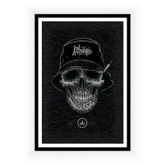 Poster High Life Skull
