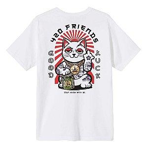 Camiseta 420 Lucky Cat