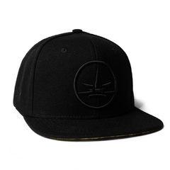 Boné Logo Round Snapback Black