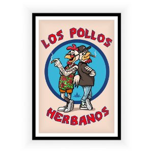 Poster Los Pollos