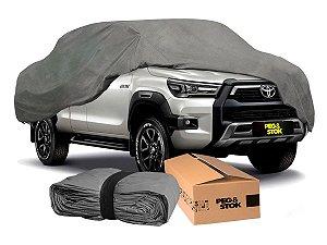 Capa Cobrir Carro Standard 100 % Forrada com Cadeado - XGG