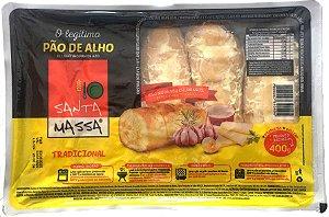 Pão de Alho Santa Massa Bisnaga - 400 g