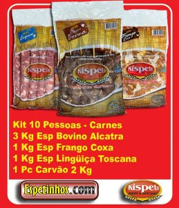 Kit Churrasco 10 Convidados