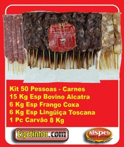Kit Churrasco 50 Convidados