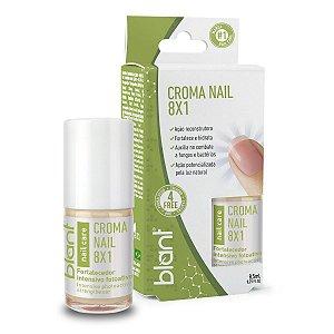 Base vegana tratamento Croma Nails 8X1 8,5Ml - 4Free Blant