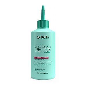 Loção pré Shampoo Detox Care 120ml Richée