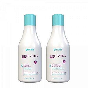Kit Richée home care Bioplástica Shampoo e condicionador 250