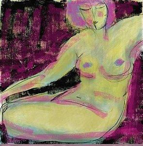 Mulher em Fundo Pink