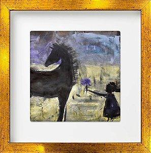 Cavalo e Flor