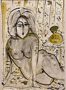 Mulher em Amarelo